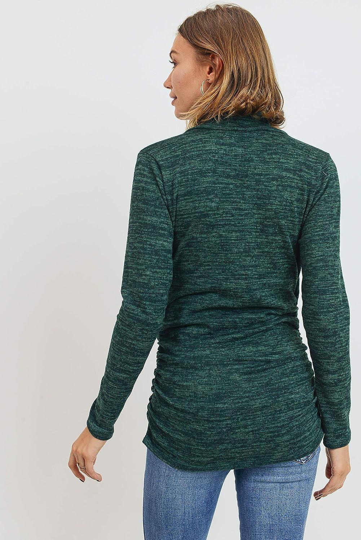 Womens Long Sleeve Maternity Sweater Top