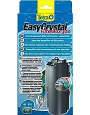 TETRA EasyCrystal FilterBox 300 - Filtre pour Aquarium de 40 à 60L - Triple filtration dont Filtre Charbon Actif - Pose et Entretien en 1 Geste -  Garantie 2 ans