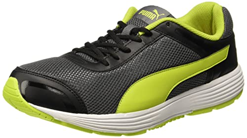 6382da168fcee Puma Men s Ceres IDP Asphalt-Limepunch Running Shoes - 10 UK India (44.5