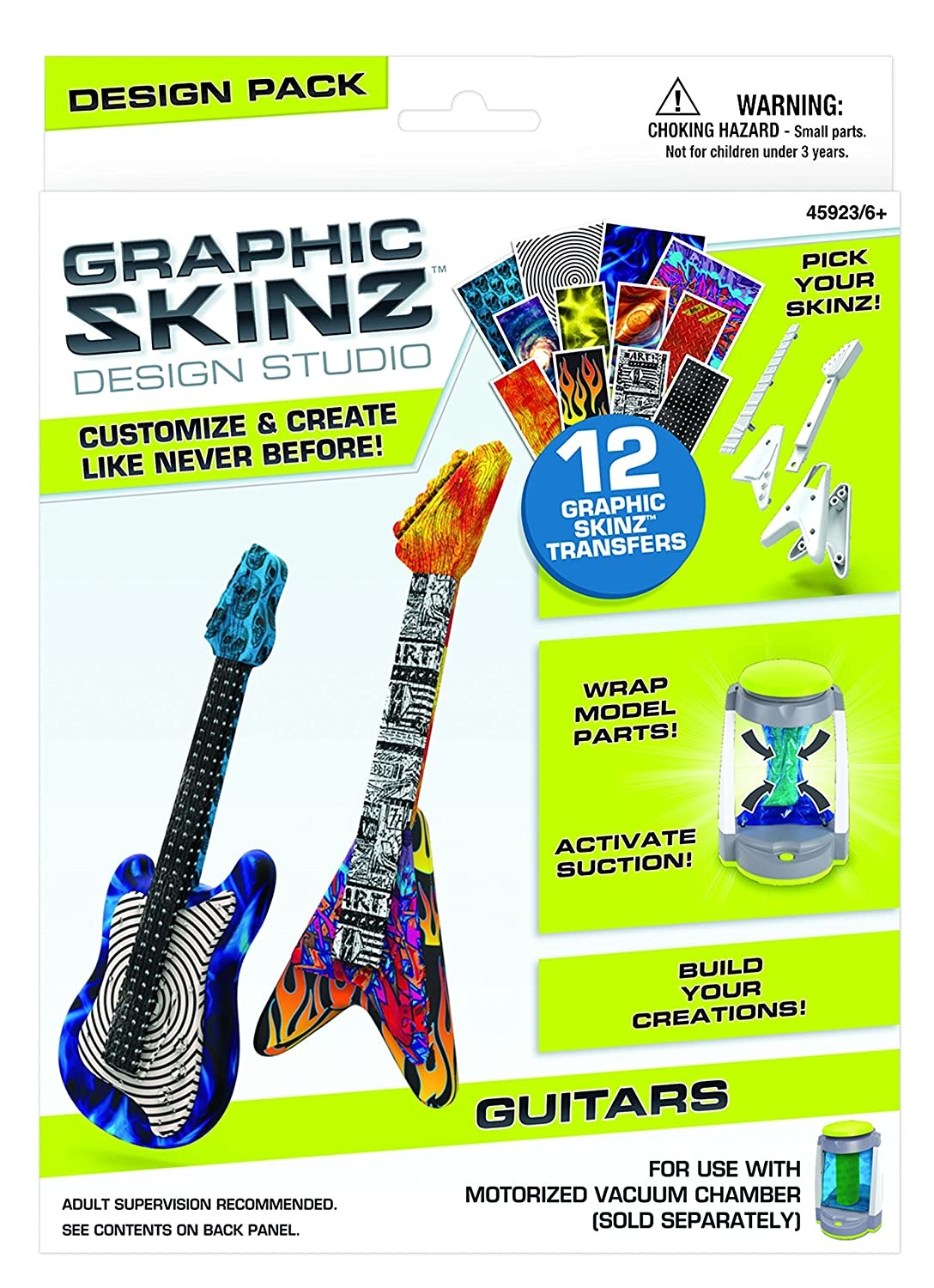 Mega Brands RoseArt Graphic Skinz Transfers Refill Punk Toy Mattel DDM36