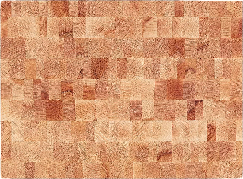"""John Boos Block CCB2015-225 20/"""" x 15/"""" End Grain Wood Reversible Chopping Block"""
