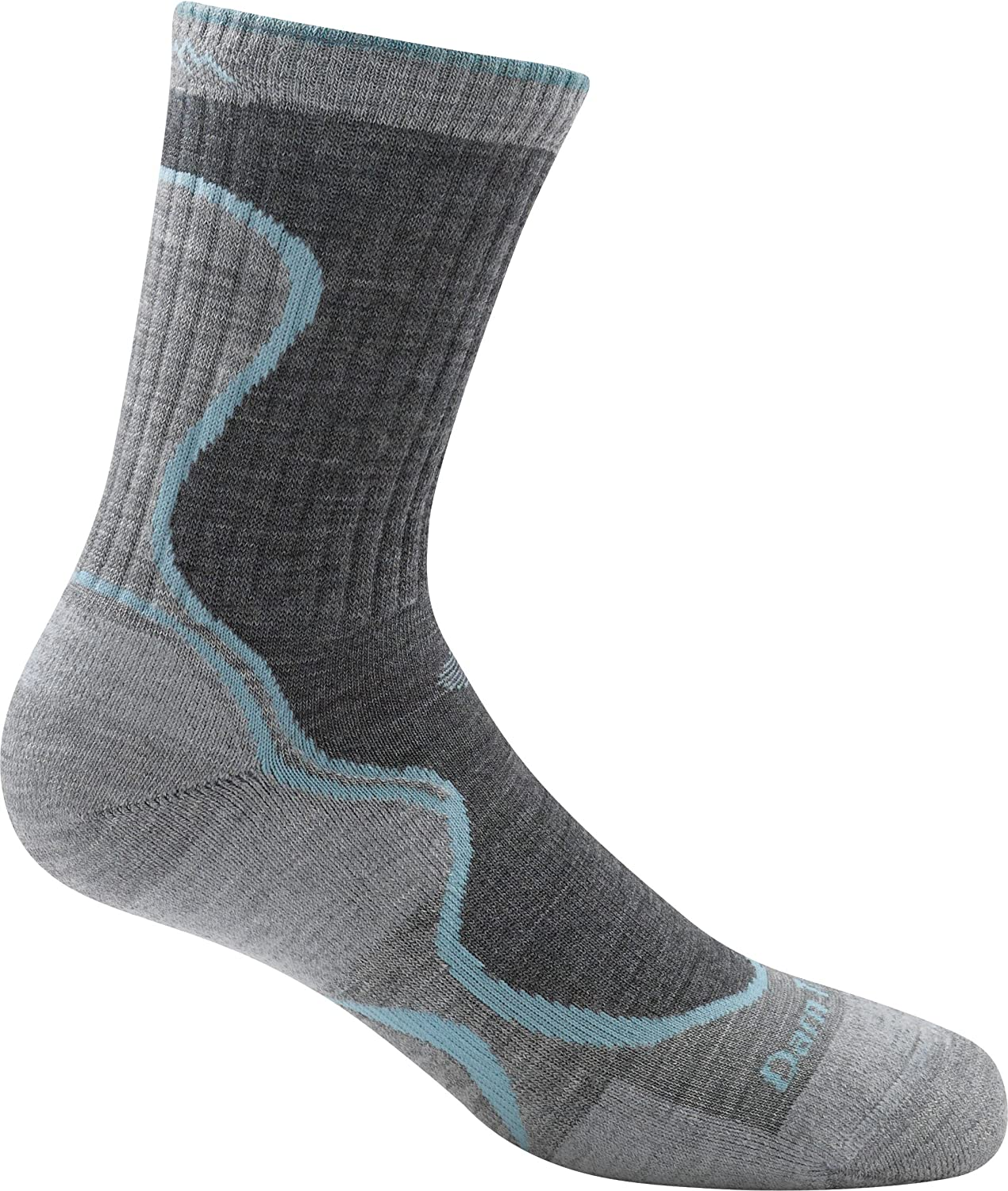 Darn Tough Vermont Junior Girls Light Hiker Micro Crew Light Cushion Socks