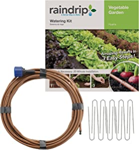 Rain DripR567DT Drip Watering Vegetable Garden Kit