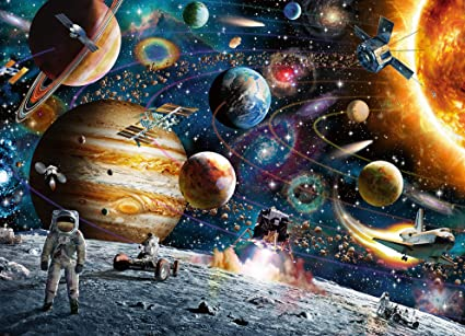 Amazon Ravensburger Outer Space 60 Piece Jigsaw Puzzle For Kids