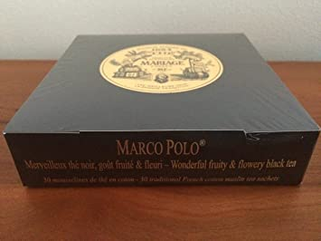 mariage freres marco polo box of 30 traditional muslin tea sachets - Mariage Freres Marco Polo