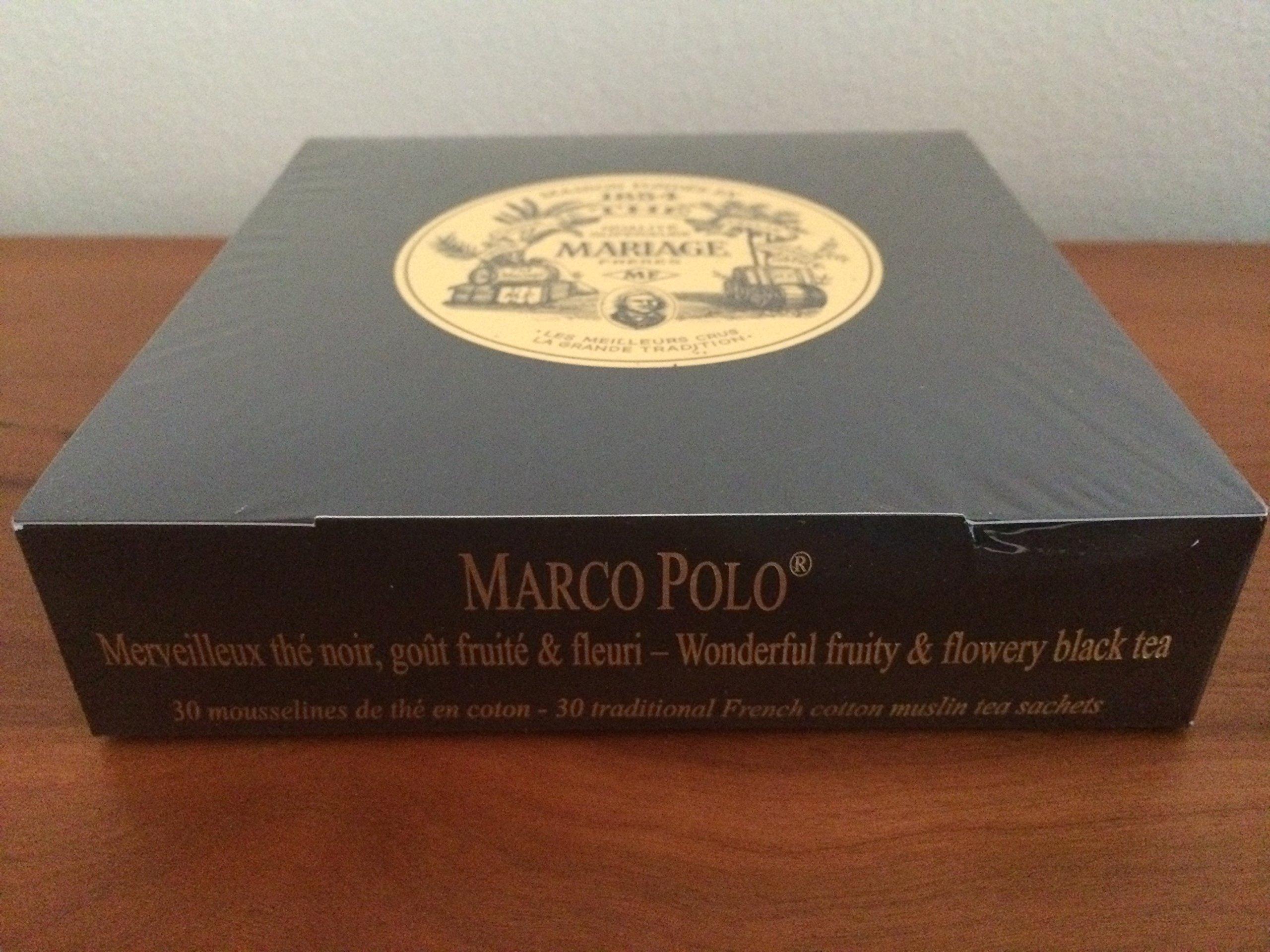 Mariage Freres - Marco Polo - Box of 30 Traditional Muslin Tea Sachets