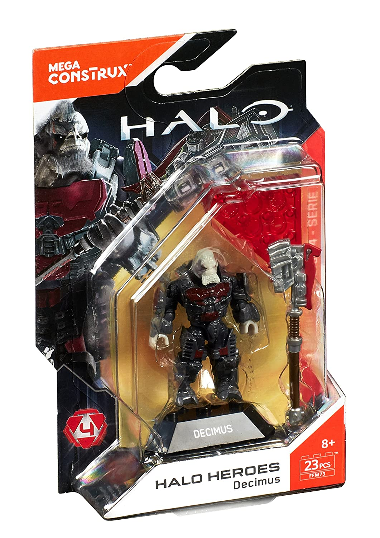 Mega Construx Halo Heroes Series 4 Decimus Figure Mattel FFM73