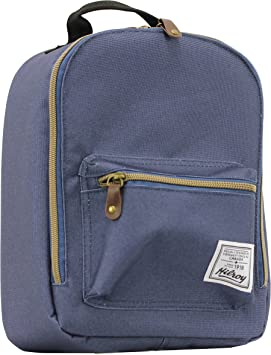 24be83ead9c2fb Hilroy Heritage Bowie Lunch Bag, Insulated, 5-1/2 x 9 x 10-1/2 Inches, Blue  (89533): Amazon.ca: Office Products