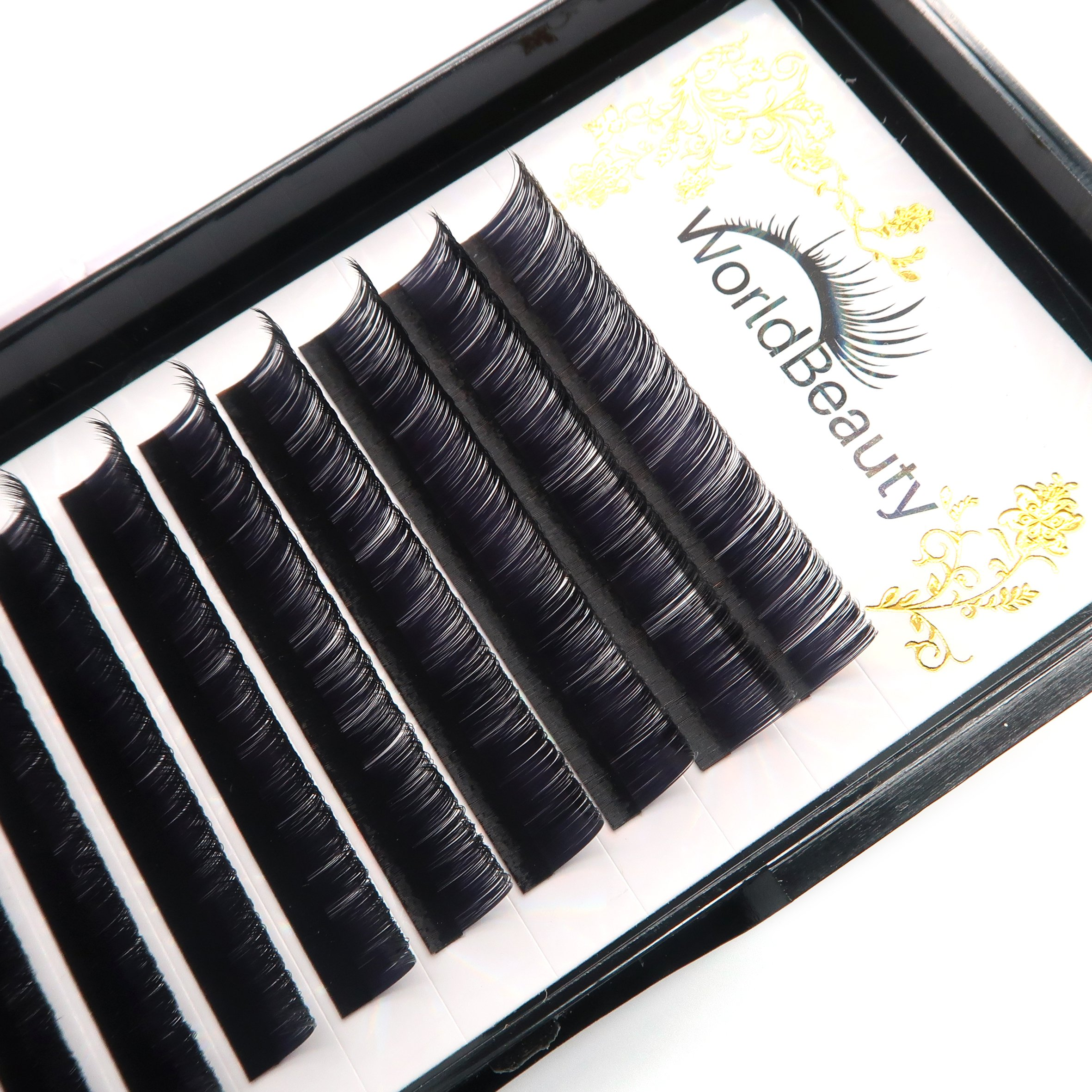 7a96e70a3e0 Amazon.com : Professional Classic Eyelash Extensions C Curl 0.20mm 14mm Silk  Individual Natural Black Faux Mink Lash Extensions Suppliers for Salon Use  : ...