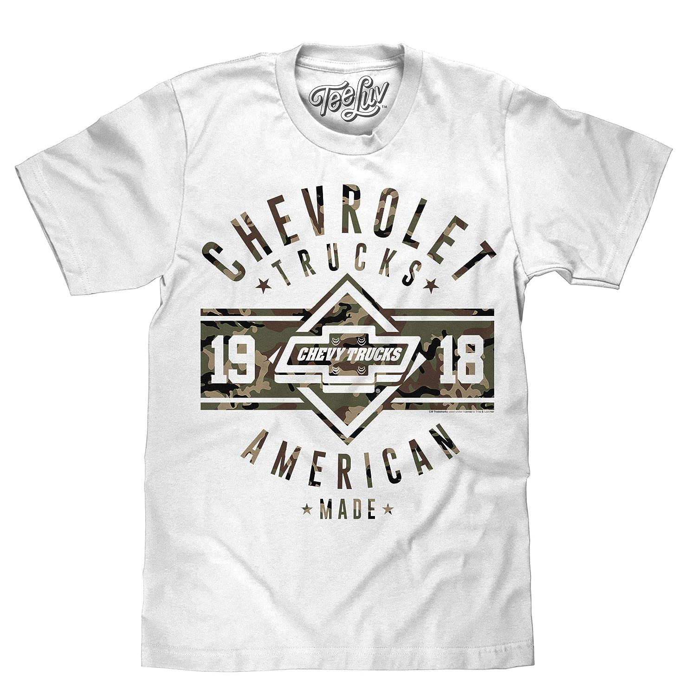 Chevy T Shirts >> Tee Luv Chevrolet Trucks T Shirt Since 1918 American Made Chevy Truck Shirt