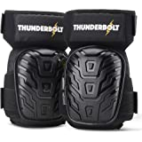 Knee Pads for Work by Thunderbolt for Construction, Flooring, Gardening, Cleaning with Double Gel Cushion and Anti-Slip…
