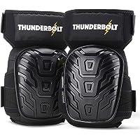 Rodilleras profesionales de Thunderbolt para trabajo, construcción, jardinería