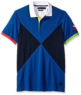 Nautica Hombre Manga Corta Camisa Polo: Amazon.es: Ropa y accesorios