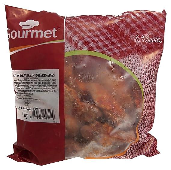 Gourmet - Alitas De Pollo adobadas en salsa, Ultracongeladas, 1 Kg