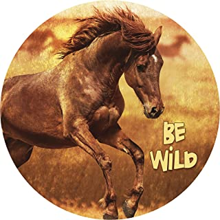 """product image for Next Innovations Motivational Wall Art Be Wild 16"""" Round"""