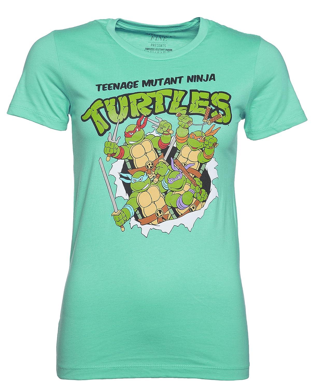 TruffleShuffle - Camiseta para Mujer, diseño de Las Tortugas ...