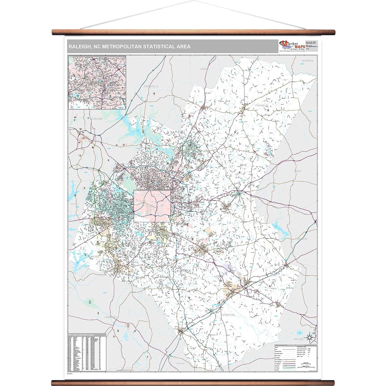 Amazon.com: MarketMAPS Raleigh, NC Metro Area Wall Map - 2018 - ZIP on raleigh nc hotels, raleigh nc weather, raleigh north carolina, raleigh nc street map, town of waxhaw nc map, town of cary nc map, raleigh nc county map, raleigh nc airport, raleigh nc downtown map, raleigh nc road map, raleigh nc neighborhood map, raleigh nc home, raleigh nc restaurants, raleigh nc district map, raleigh nc shopping, raleigh nc beach map, raleigh nc state map,