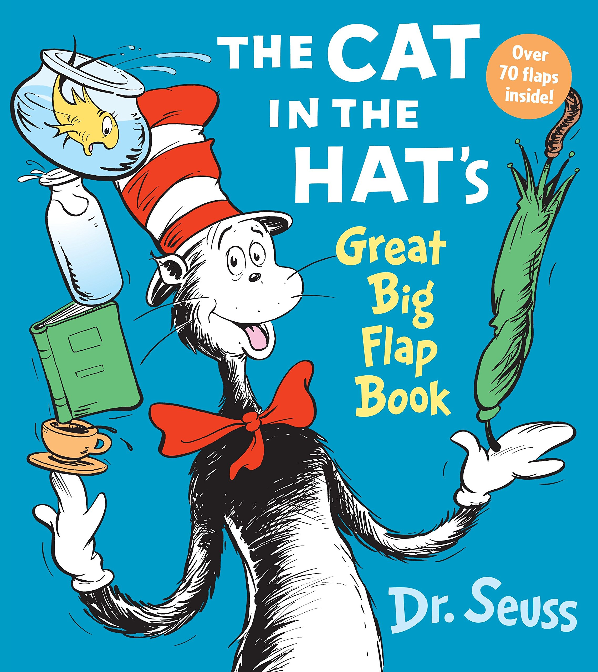 amazon the cat in the hat great big flap book dr seuss