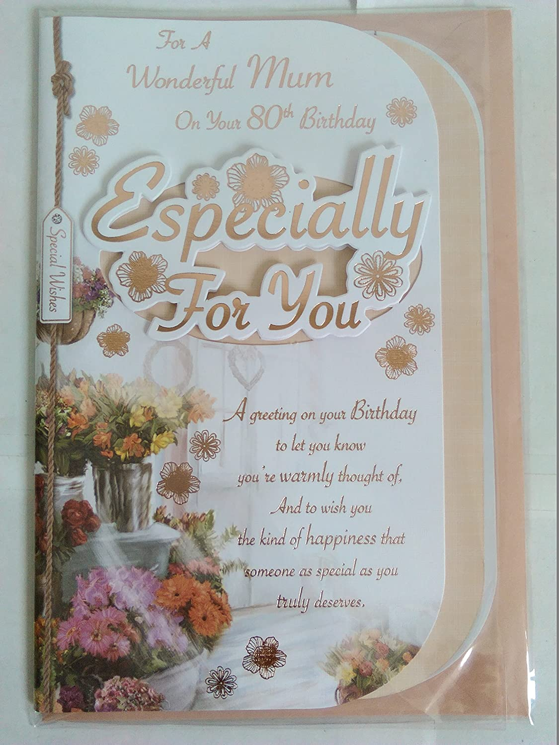 Xpress Yourself Nan With Flower Birthday Sentimental Verse New Gift Greeting