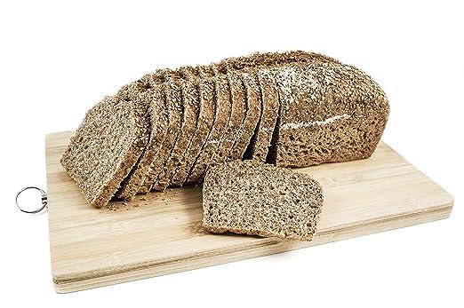 Pan ecológico artesanal con masa madre en horno de leña. Sabor tradicional exquisito. Envío GRATIS 24h. (Integral de espelta con semillas 750gr pack 4 ...
