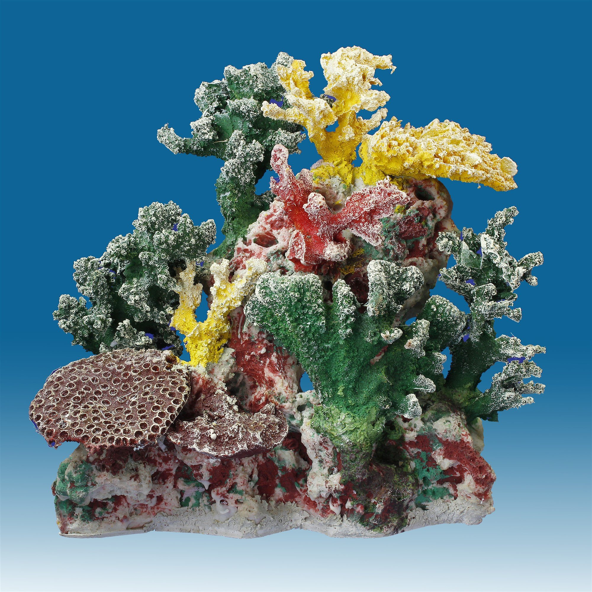 Instant Reef DM057 Artificial Coral Inserts Decor, Fake Coral Reef Decorations for Colorful Freshwater Fish Aquariums, Marine and Saltwater Fish Tanks by Instant Reef