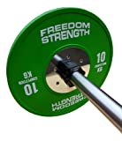 Freedomstrength® Competition Rubber Bumper Crossfit Weightlifting Plates