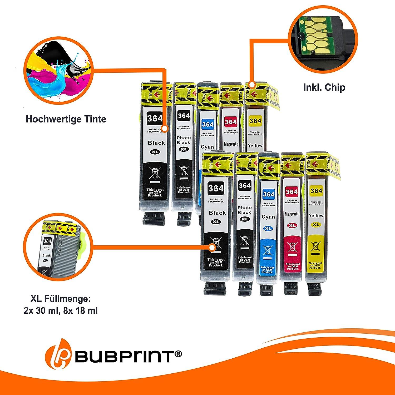 Amazon.com: 10 Cartuchos de impresora compatibles para HP ...