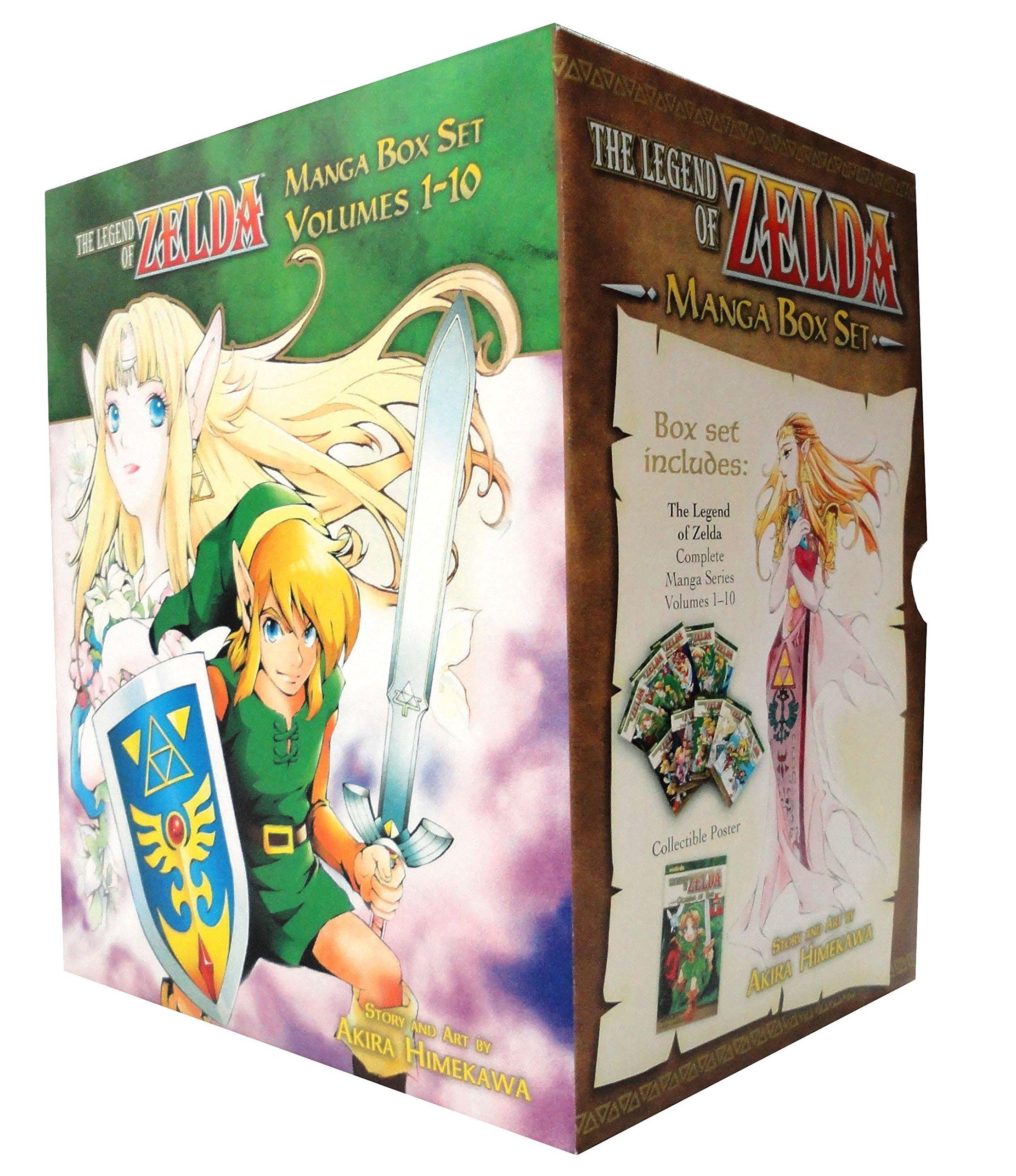 The Legend Of Zelda Box Set Himekawa Akira 9781421542423 Amazon Com Books