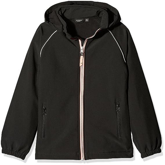 NAME IT Mädchen Jacke Nitalfa Softshell Jacket Black NMT G Fo