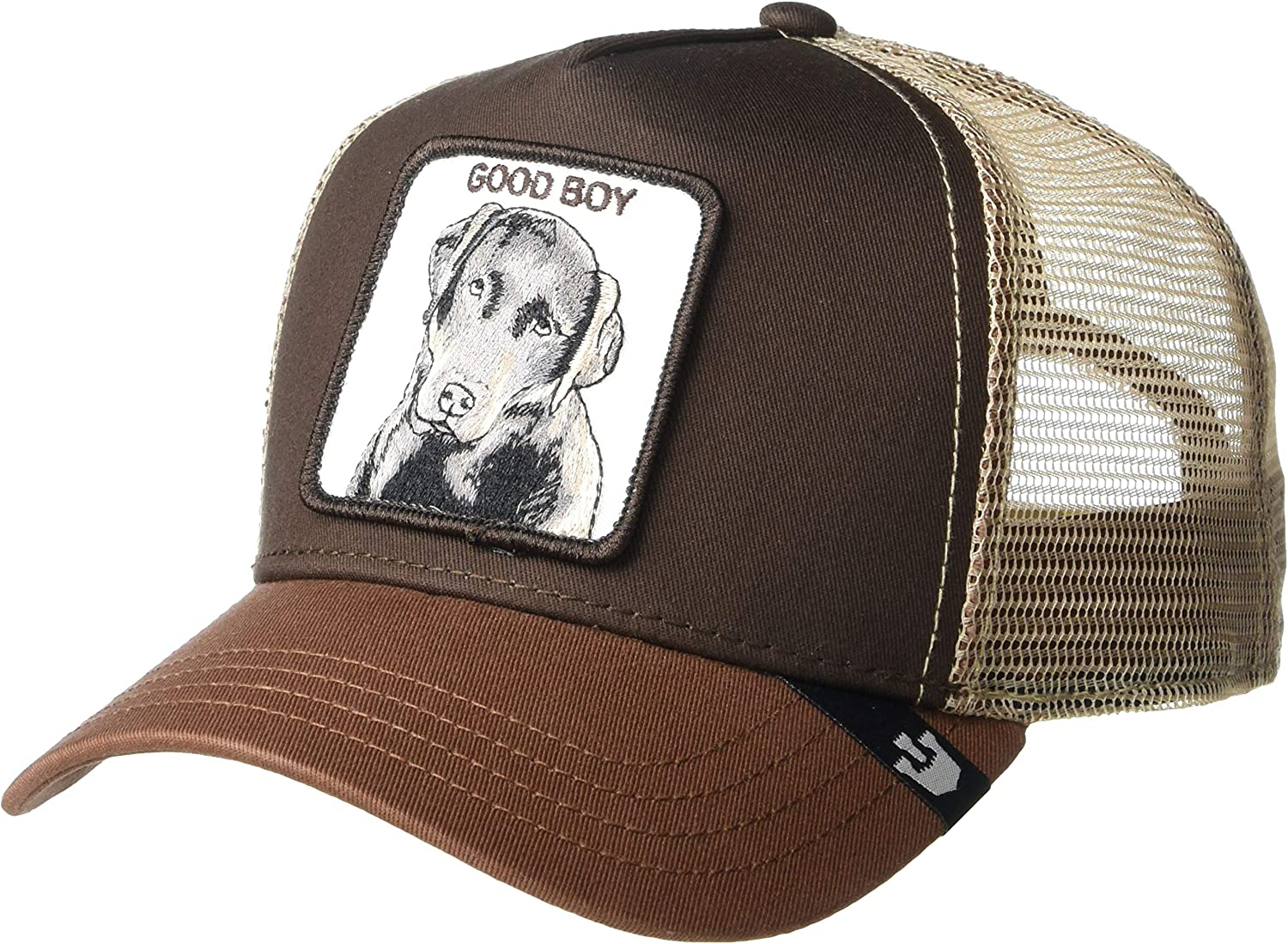 Goorin Bros Trucker Cap Sweet Chocolate/Hund Brown - One-Size ...