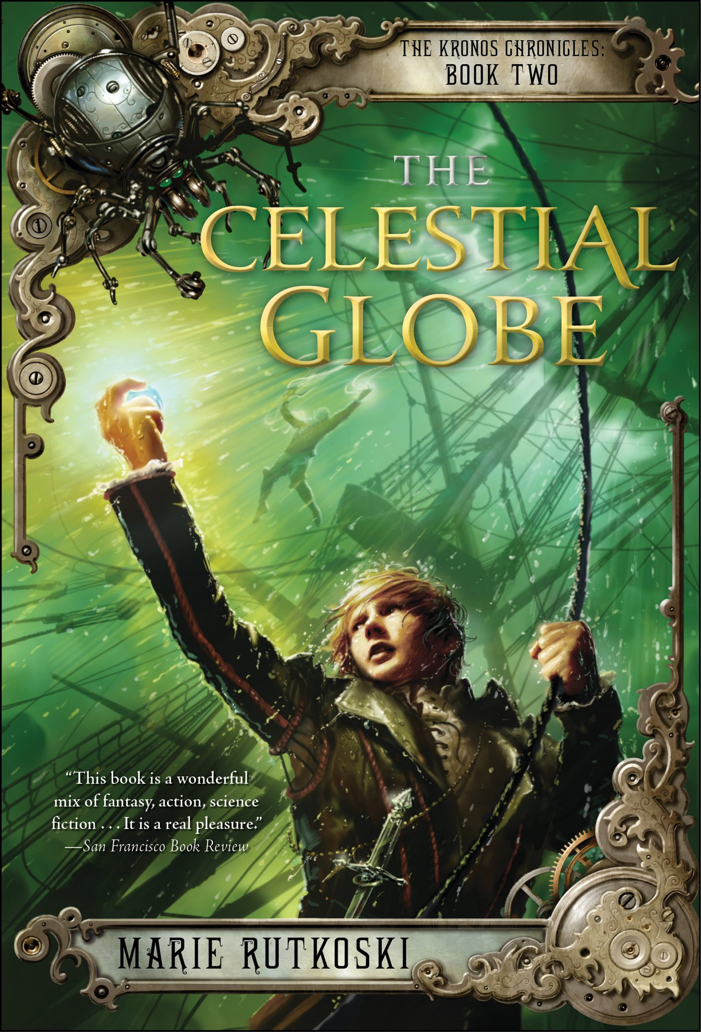 The Celestial Globe: The Kronos Chronicles: Book Ii: Marie Rutkoski:  9781250027320: Amazon: Books