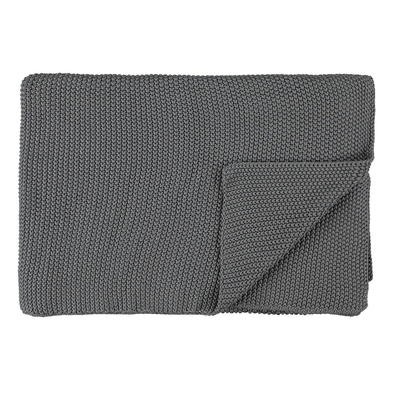 Marc O'Polo Home Nordic knit Plaid 130x170 Stone
