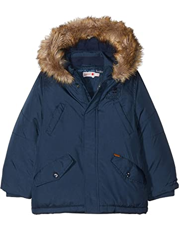 boboli Technical Fabric Parka For Boy, Abrigo para Niños