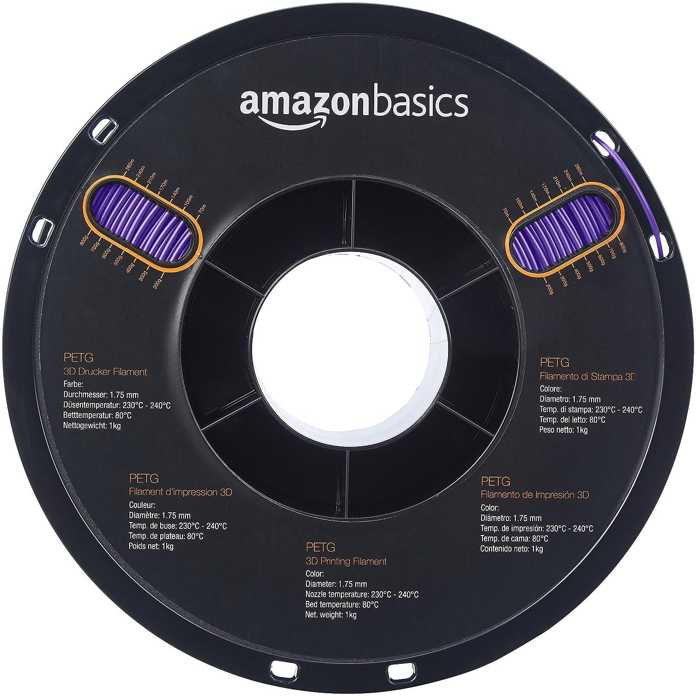 AmazonBasics - Filamento de PETG para impresora 3D, 1,75 mm ...