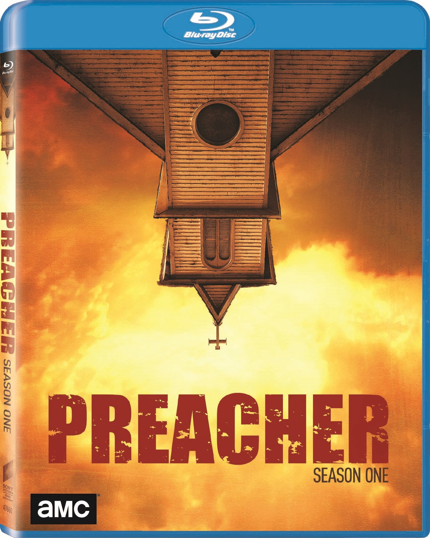 Blu-ray : Preacher: Season One (Ultraviolet Digital Copy, 3 Pack, Dolby, AC-3, Widescreen)