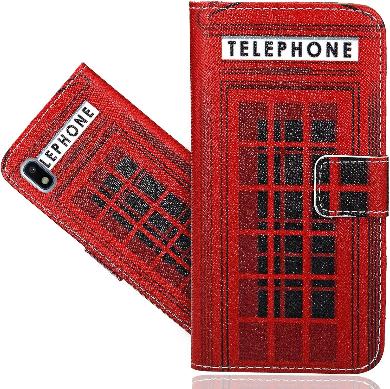 Etui Housse Coque en Cuir Portefeuille Wallet Case Cover pour Samsung Galaxy A10 CaseExpert Samsung Galaxy A10 Coque