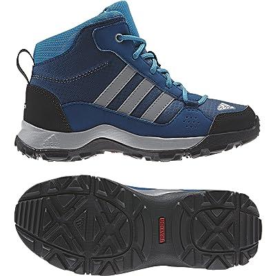 adidas Hyperhiker K, Chaussures de Randonnée Hautes Mixte Enfant, Multicolore-Rose/Gris/Noir (Rubmis/Gritre/Borosc)