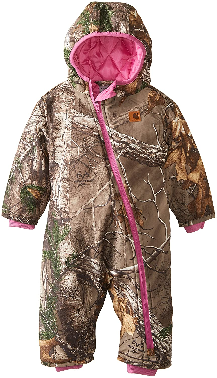 Carhartt Baby Girls' Camo Snowsuit Real Tree 6 Months CM9636
