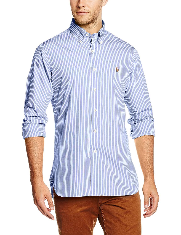 Polo Ralph Lauren BD HAB PPC-Long Sleeve, Camisa para Hombre, (712 ...