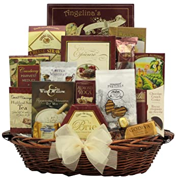 greatarrivals finer things gourmet holiday christmas gift basket
