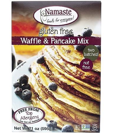 Amazon.com: Namaste Alimentos, sin gluten Waffle & ...