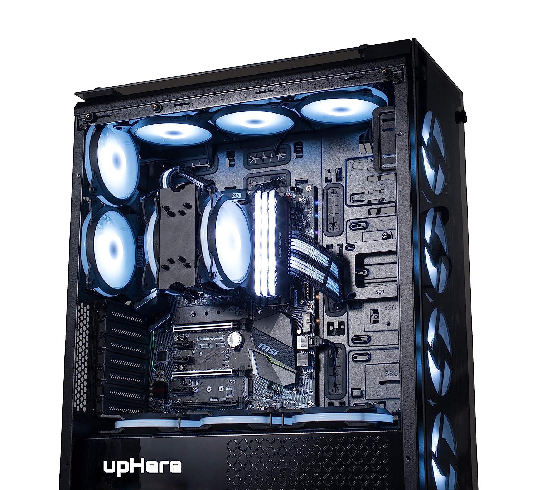 15R3-3 3- Pack ROT CPU-K/ühler und K/ühler Ultra High Quiet Airflow 15LED Computer Geh/äusel/üfter upHere 120mm Silent L/üfter f/ür Computergeh/äuse