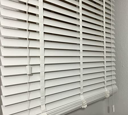 Genuine Wood Venetian Blind Length 170 Cm Wide 160 Cm With 50 Mm