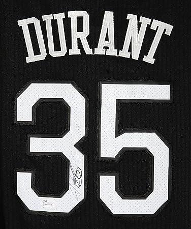 dce451ea0 Kevin Durant Golden State Warriors Signed Autographed Alternate Black