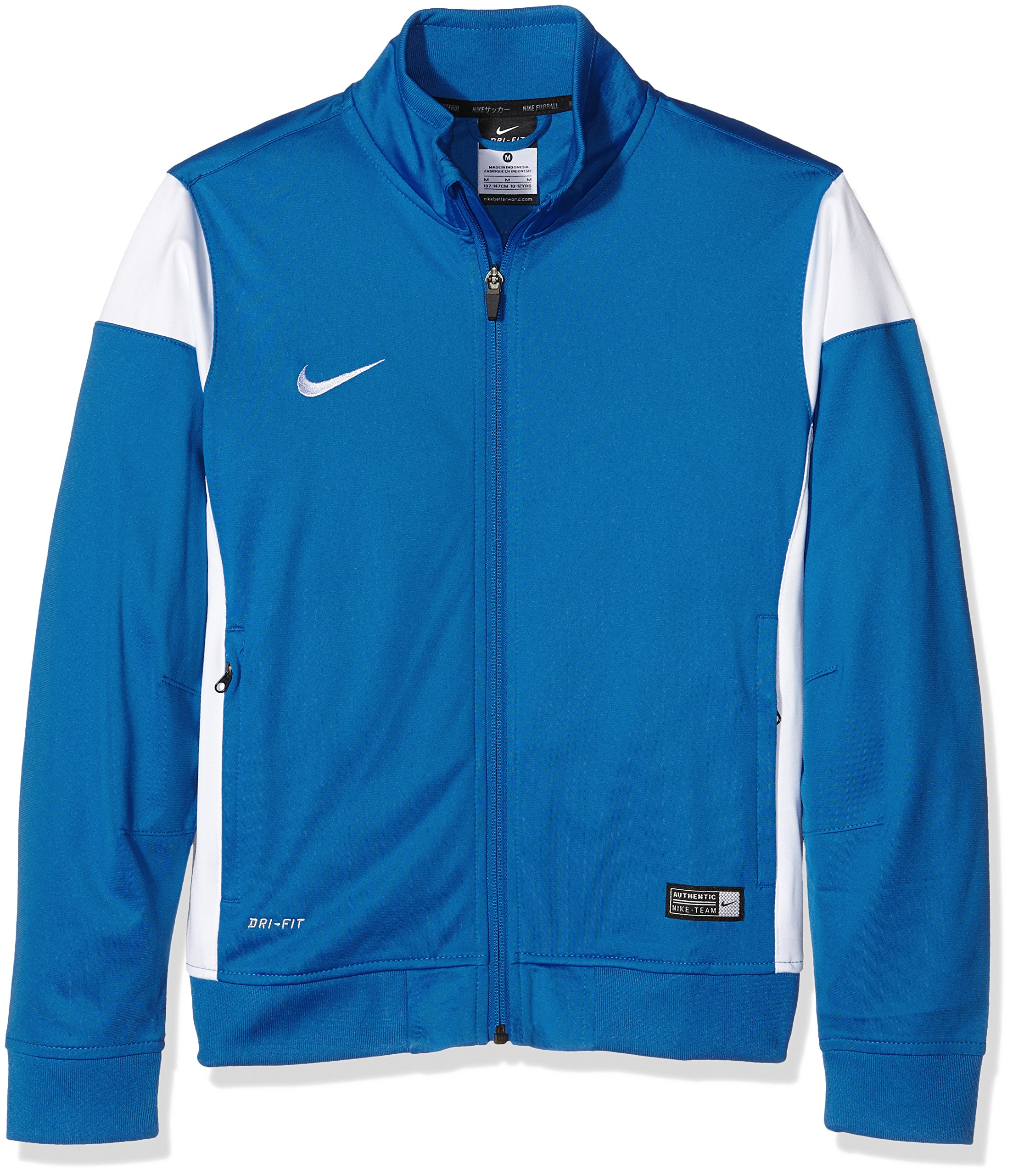 Nike Academy 14 Sideline Knit Jacket Royal/White YL by Nike (Image #2)