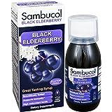 Sambucol Black Elderberry Original Formula, 4 Fluid Ounce Bottle, High Antioxidant Black Elderberry Extract Syrup for Immune Support