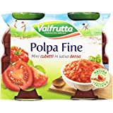 Valfrutta - Polpa Fine, Mini cubetti in salsa densa - 660 g