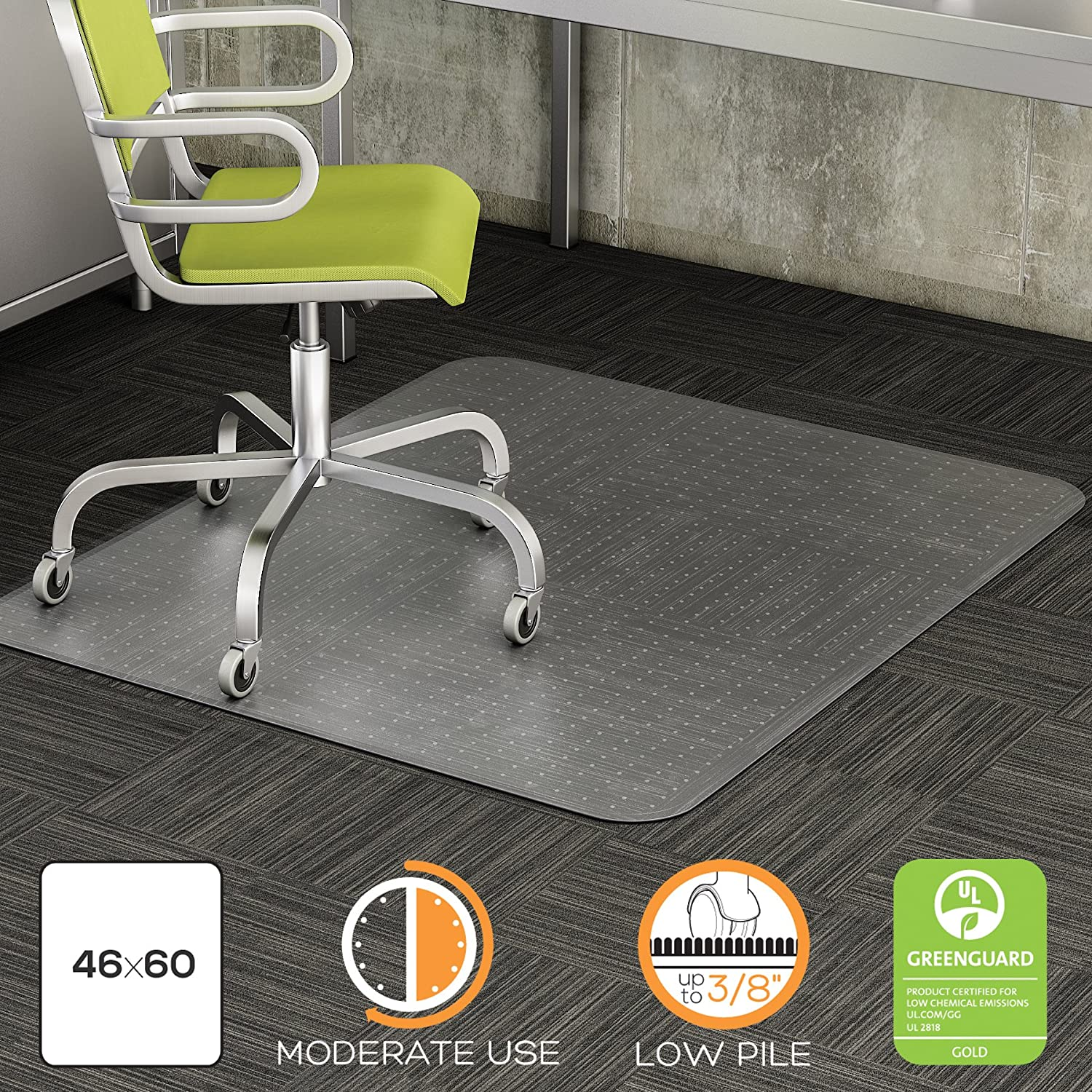 mat floor pile mats chairs hardwood desk chair protector permalink l rug plastic high image
