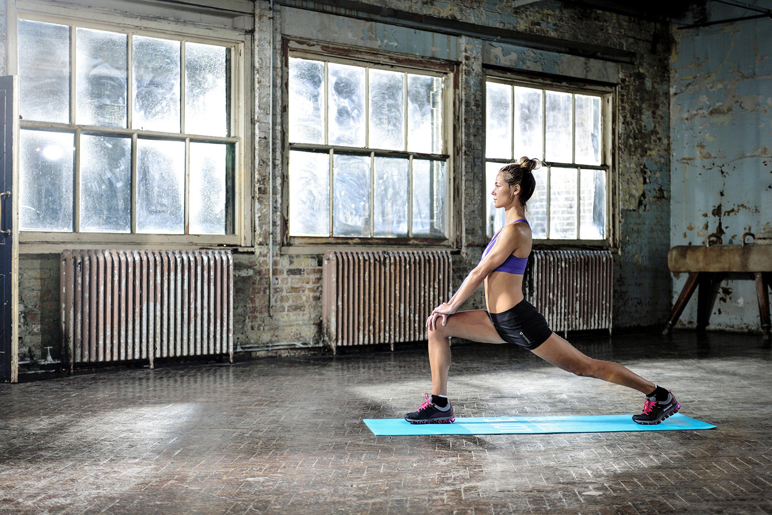 Reebok fitness , training equipment, Yoga mat (color: Blue) [RAMT-11024BLL] by Reebok (Image #4)