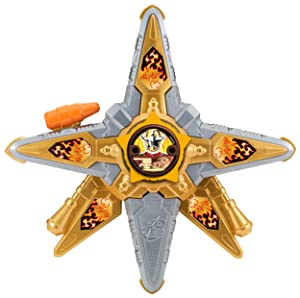 Power Rangers Ninja Steel ‑ DX Gold Ninja Battle Morpher